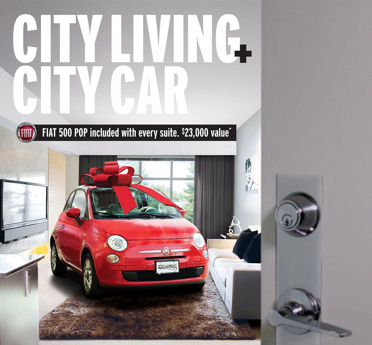 New Surrey development includes new Fiat 500 Pop with purchase!